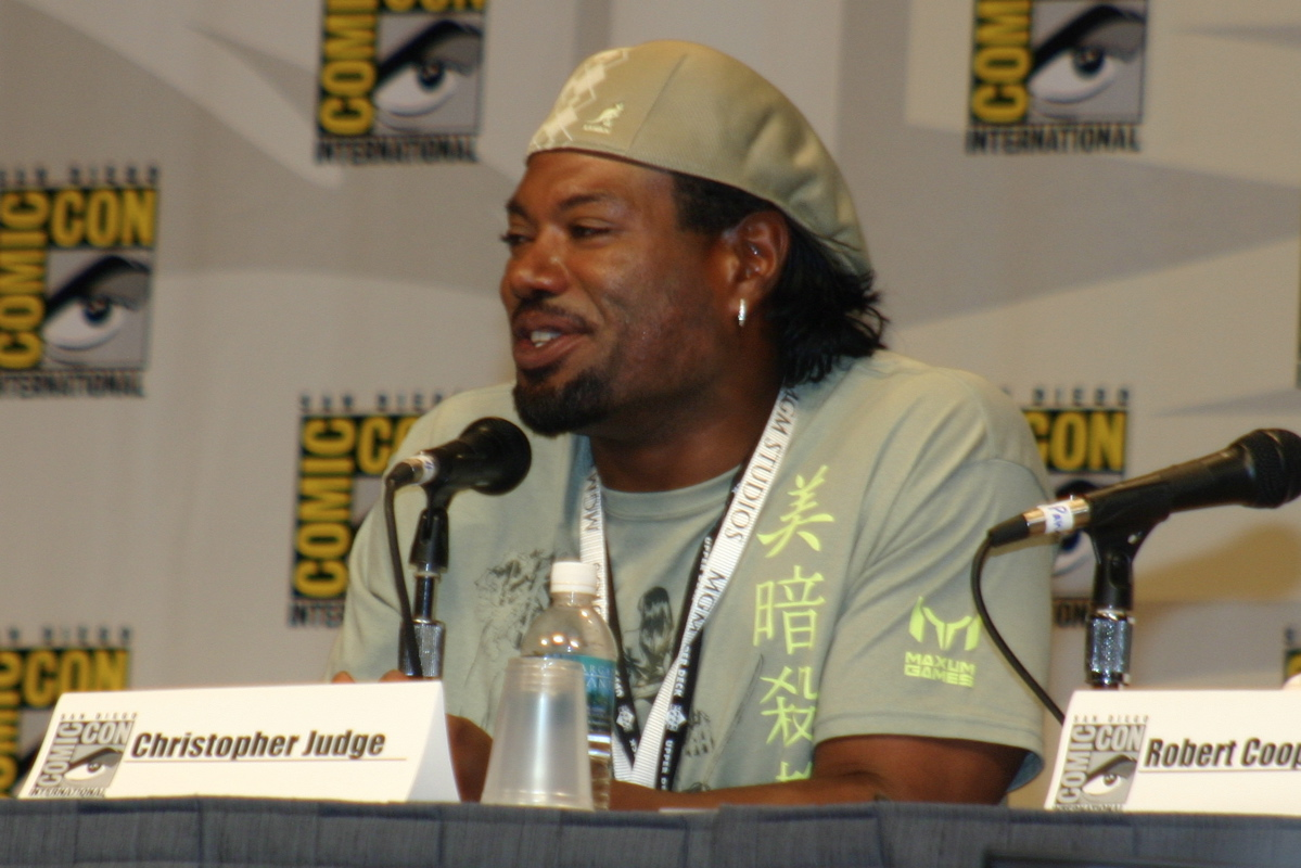 christopher judge youtube