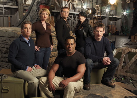 S10 Cast of Stargate SG-1