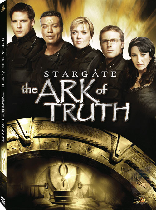 "Cover art for ""Stargate: The Ark of Truth"" DVD"
