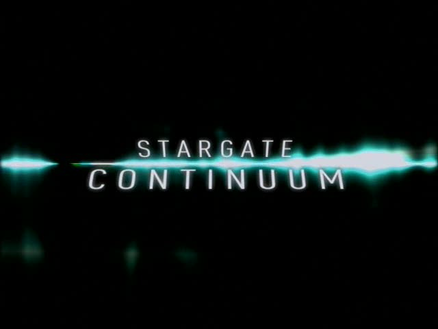 Title screen for Continuum from AOT DVD
