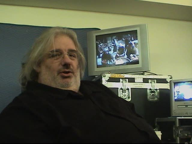 """Joel Goldsmith as he composes for """"The Ark of Truth"""" (Image from DVD)"""