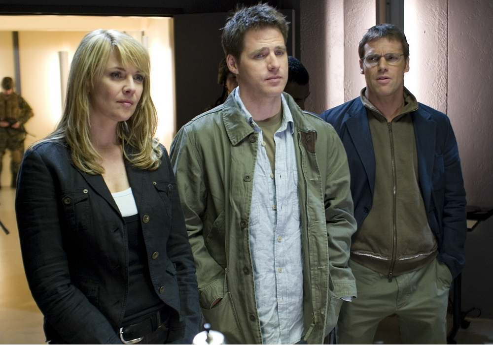 Carter, Mitchell, and Daniel in Continuum