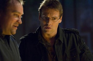 Dr. Daniel Jackson with Dr. Rodney McKay on Atlantis