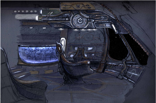 SGU Shuttle Bridge (image from Sci Fi Wire)