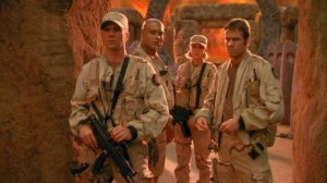 SG-1 in 'Window of Opportunity' in Season Four
