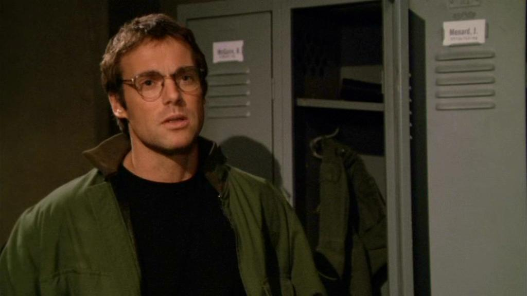 Daniel Jackson in the rewritten scene in 'Fallen'