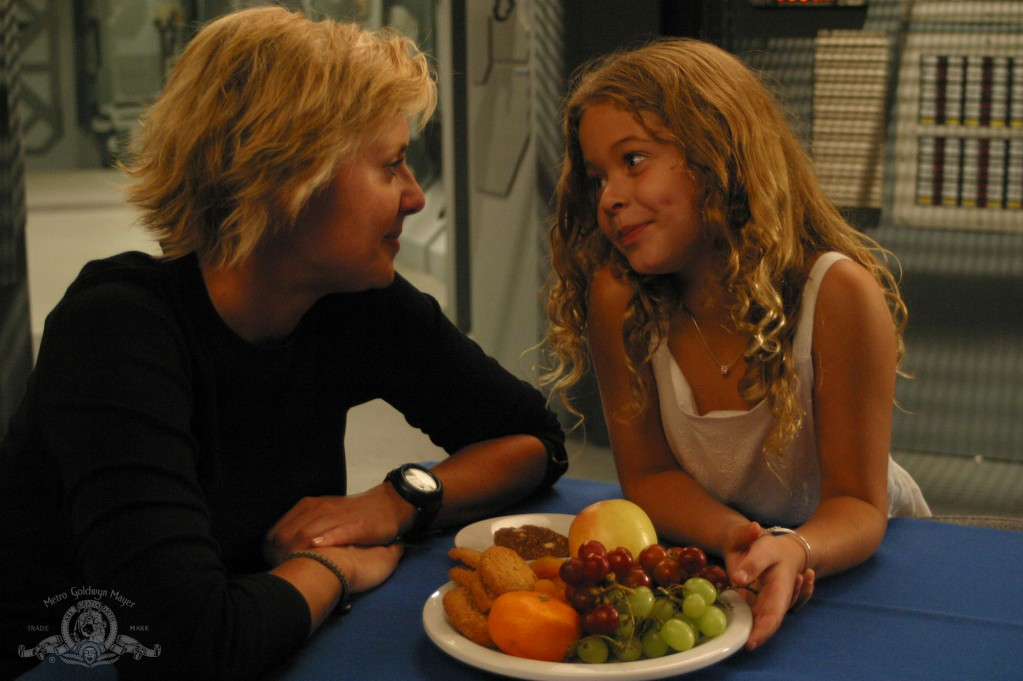 Sam Carter and Grace in 'Grace'