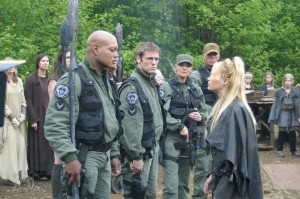 SG-1 meets Ishta in 'Birthright'
