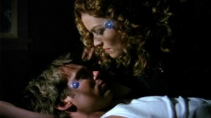 Daniel Jackson and Sarah Gardner/Osiris in 'Chimera'