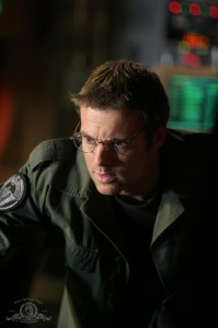 Daniel Jackson monitoring the Stargate in 'New Order'