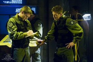 Daniel Jackson and 'New Guy' Cameron Mitchell in 'Prototype'