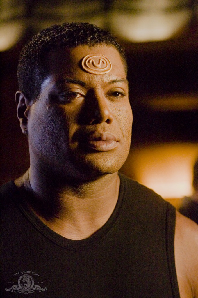Teal'c in 'Camelot'