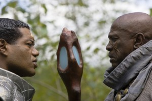 Teal'c and Gerak face off in 'The Fourth Horseman'