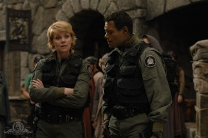 Samantha Carter and Teal'c in THE QUEST