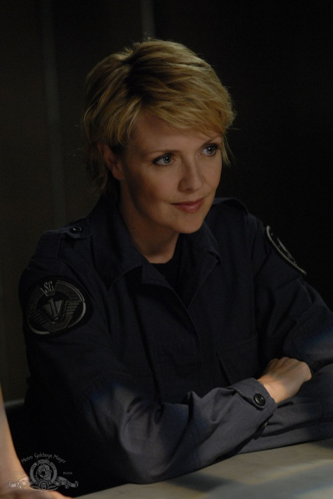 Samantha Carter in INSIDERS