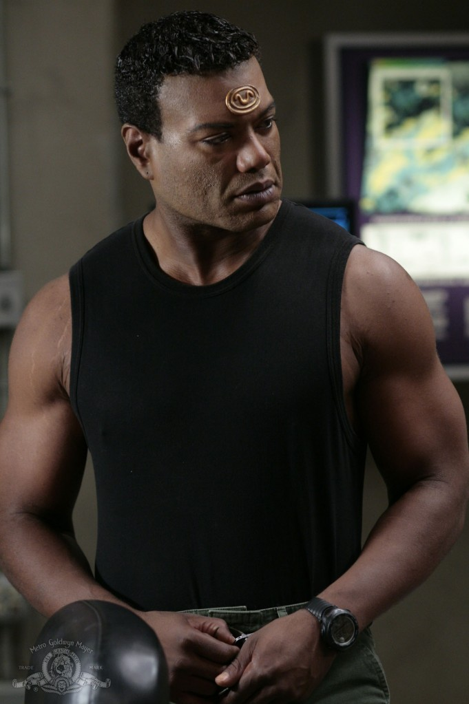Teal'c in THE SHROUD