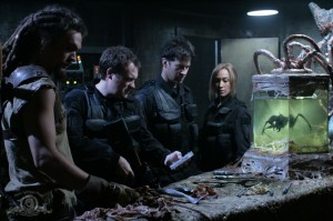 Team examines Michael's lab in 'Vengeance'