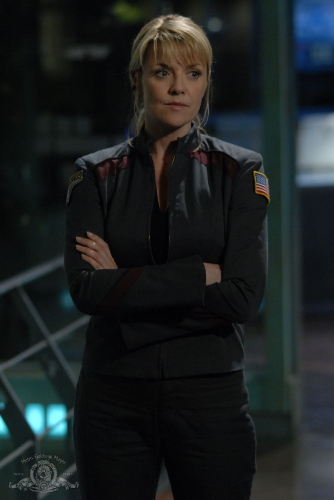 Samantha Carter in BE ALL MY SINS REMEMBER'D