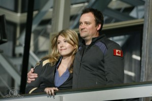 Jennifer Keller and Rodney McKay together in ENEMY AT THE GATE