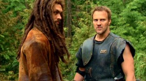 Ronon Dex and fellow Runner Kiryk in TRACKER