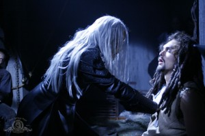 Ronon Dex is fed upon by a Wraith in BROKEN TIES