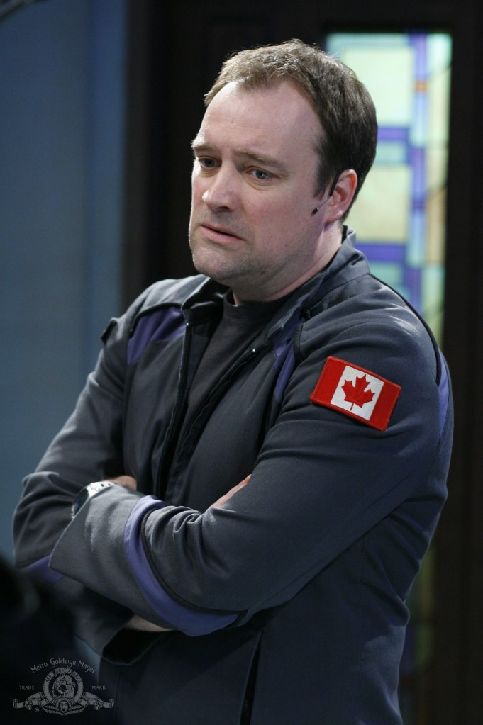 Rodney McKay in GHOST IN THE MACHINE