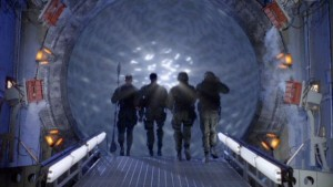 SG-1 prepares to go through the gate