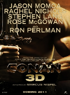 Conan 3D movie poster Jason Momoa