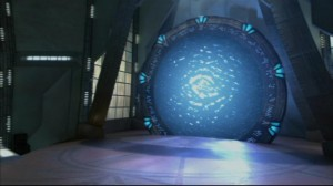 Active Stargate in Atlantis