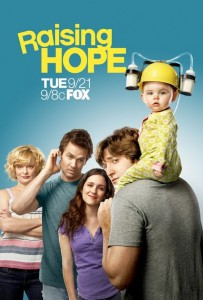 RAISING HOPE poster