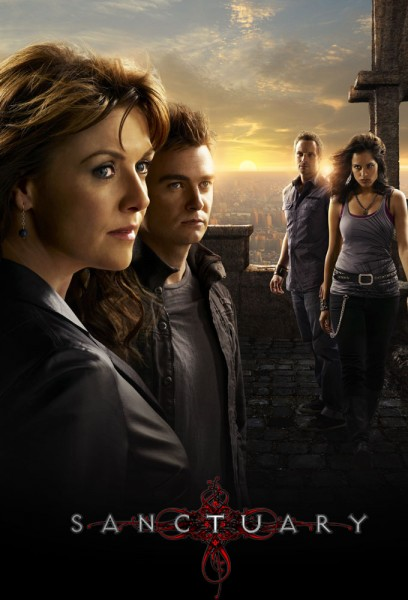 sanctuary poster SANCTUARY: 4ª Temporada Completa   RMVB Legendado