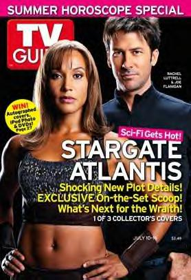SGA on cover of TV Guide